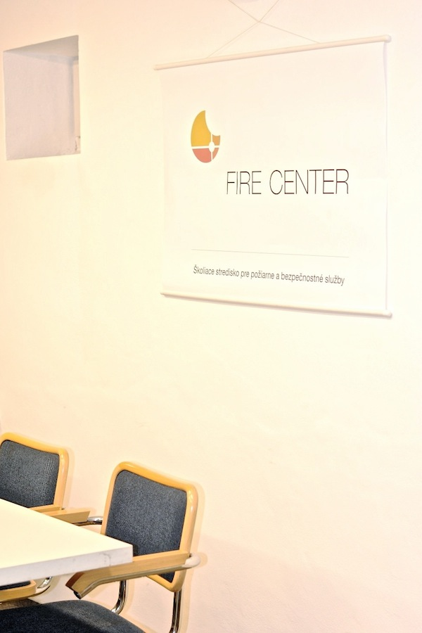 Fire Center s.r.o.: Pohľad do učebne